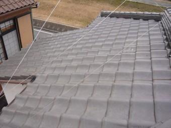 大屋根の全景