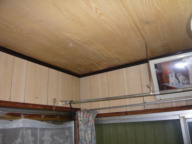 天井の雨漏り後