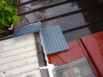増築屋根(トタン)