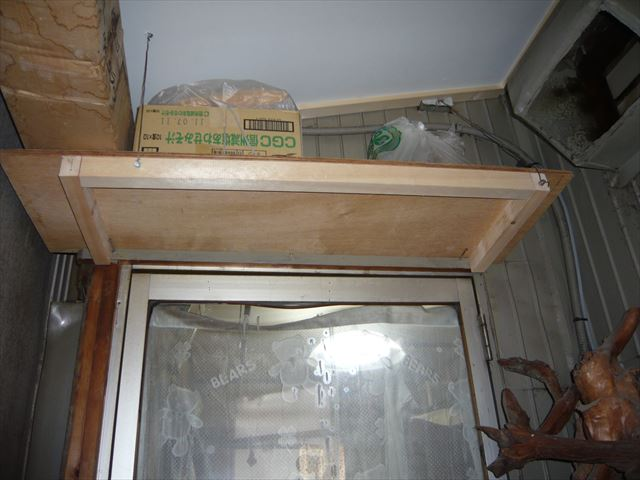 吊り棚新設