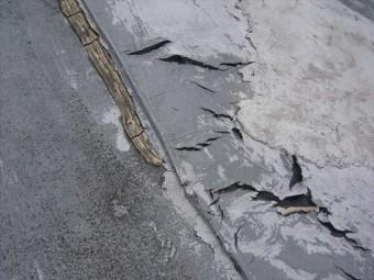 防水層の劣化