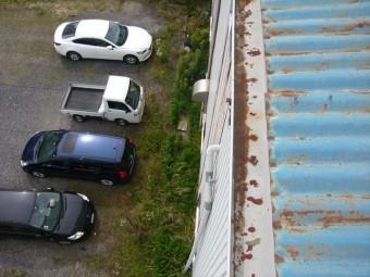 軒先と雨樋の劣化