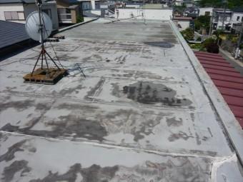 屋上防水の全景