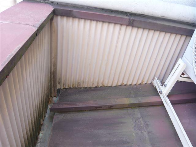 ベランダの内屋根