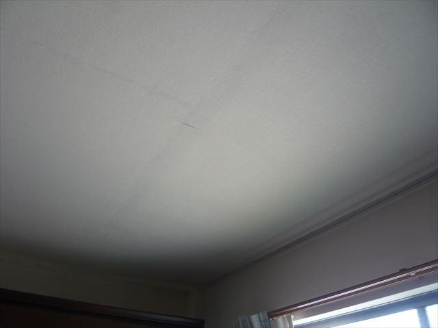 室内の雨漏り