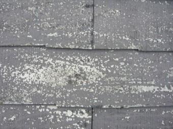 スレートの表面の劣化