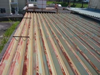 折半屋根の全景