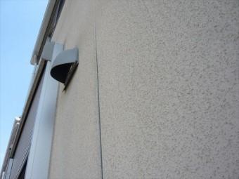 外壁の膨らみ