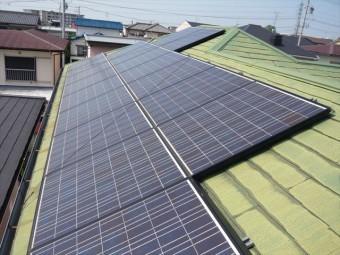 太陽光パネルの設置面