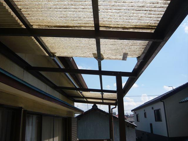 台風直後の状態