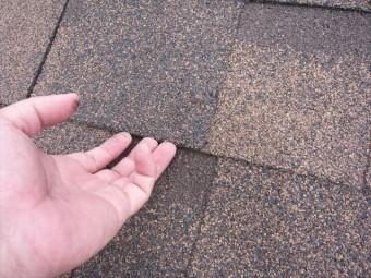 屋根材の正常な状態