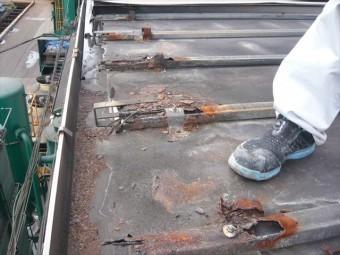 元屋根の劣化