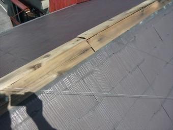 板金内部の木材