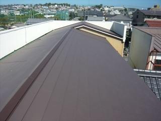 屋根カバー後の全景
