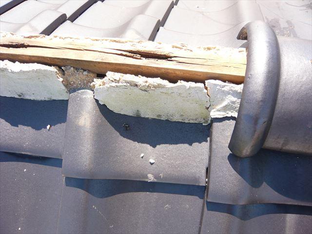 垂木の腐食