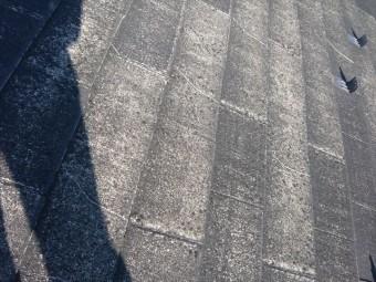 スレート表面の劣化
