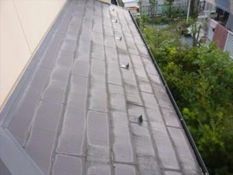 スレート下屋根