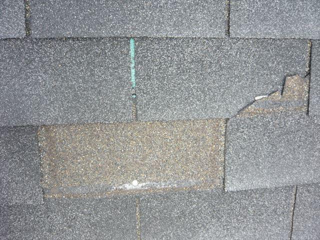 屋根材の張り方