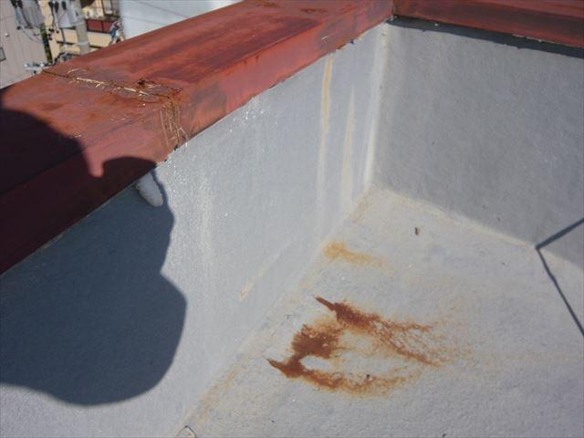 屋上の防水状況