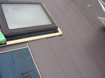 天窓廻りの加工