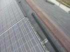 太陽光パネルを外す準備