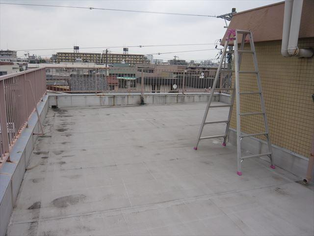 屋上の全景