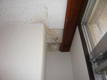 トイレ横の天井の染み