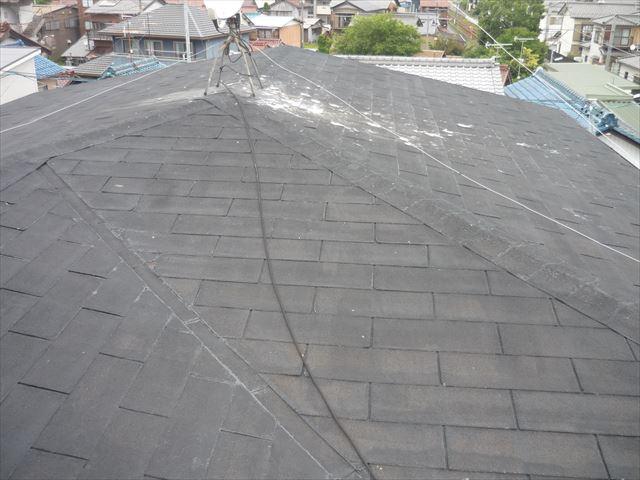 名古屋市南区にて3階建ての屋根点検の依頼を受けました。