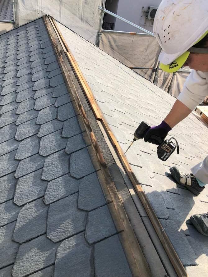 名古屋市南区の方へ屋根工事における屋根カバー工法とは・・・
