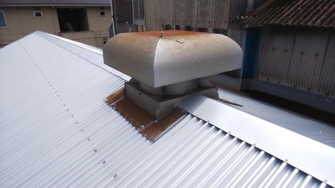 工場屋根カバー